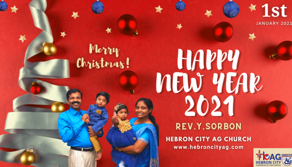 Live | 2021 New Year Service in Tamil | Rev.Y.Sorbon | Happy New Year 2021 | Hebron City AG Church